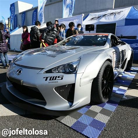 Widebody Lexus Lfa At Tokyo Auto Salon Photo By