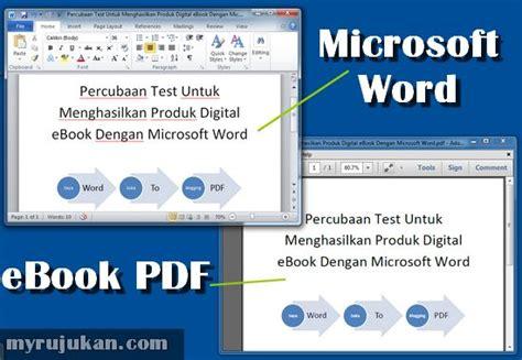 bicara cyber cara buat file pdf dari microsoft office word