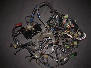88 89 Honda Crx Oem D15b2 Engine Wiring Harness