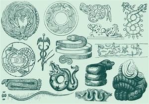 Ancient Serpent Art - Download Free Vectors, Clipart ...