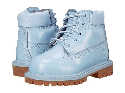 light blue timberland boots timberland kids 6 quot premium waterproof boot little