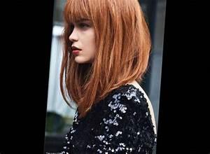 Carré Mi Long Plongeant : 59 best cheveux longs images on pinterest ~ Dallasstarsshop.com Idées de Décoration