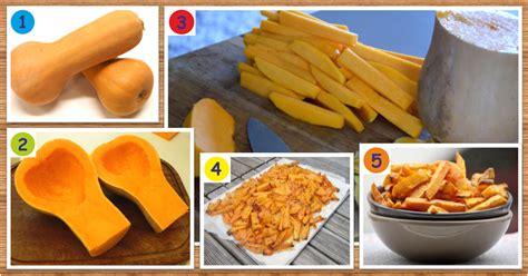 comment cuisiner une courge recette de frites santé et minceur de courge butternut