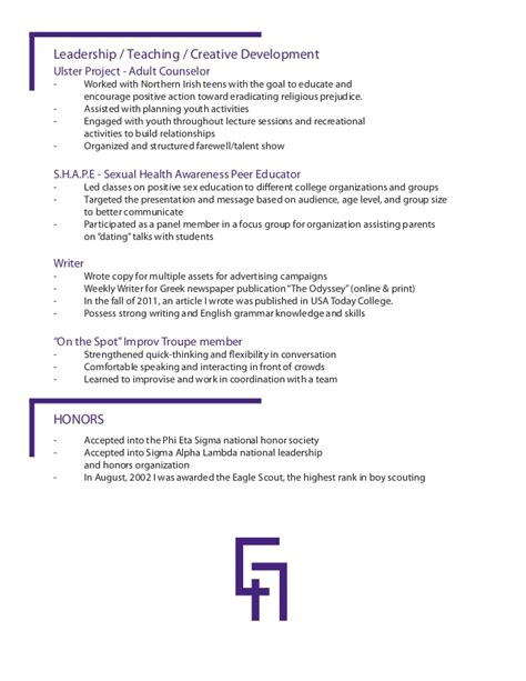 Resume Creation Using Html by Grady Augustine S Resume