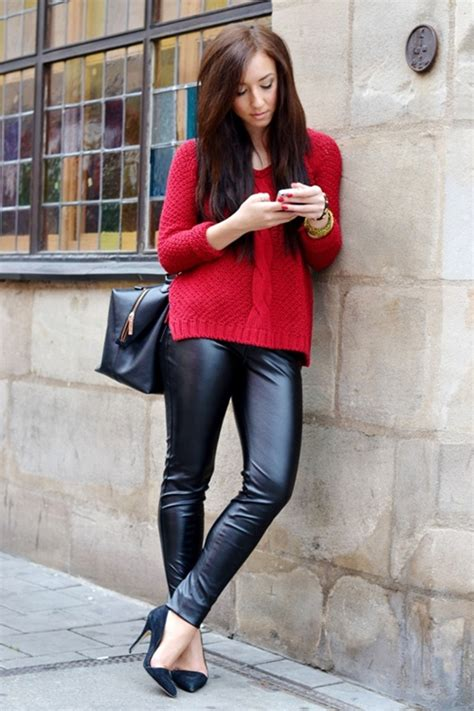 100+ Leather Pants Outfits to Showcase Your Inner Rock Star