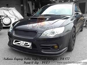 Subaru Legacy Delta Style Front Bumper  U0026 Front V Lip