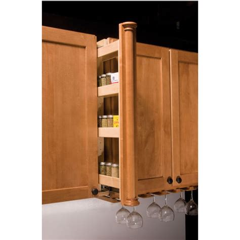 cabinet filler width kitchenmate wall cabinet filler organizer by omega