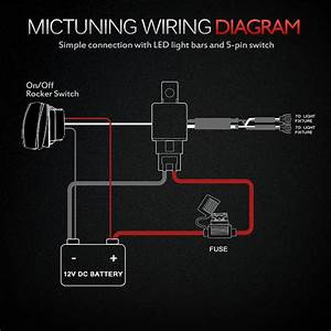 Mic Tuning Inc Off Road Led Lights Auto Accessories Online Shopping Wiring Diagram