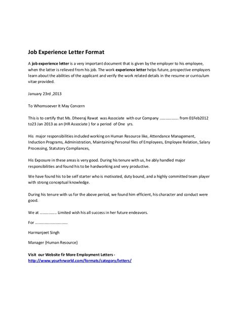 work experience letter template year  fee schedule