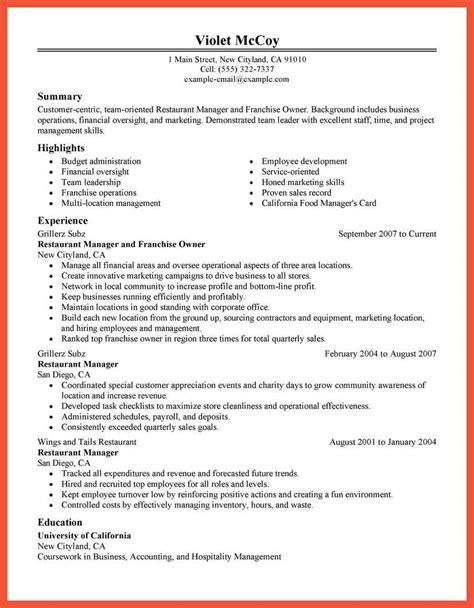resume for hostess 28 images host hostess resume sle