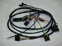 1977 Firebird Air Conditioning Heater Control Wiring Harness