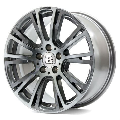 Brabus Mercedes Wheels by Brabus Monoblock R Wheels Platinum Edition Mercedes