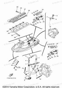 Yamaha Waverunner Parts 2007 Oem Parts Diagram For Hull