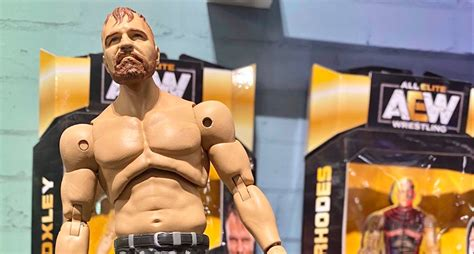 unrivaled aew figures featured   york toy fair