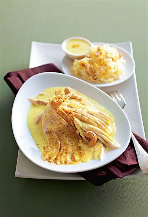 cuisine aile de raie au four recette aile de raie au curry