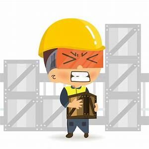 Man Lifting Heavy Box Stock Illustrations  U2013 382 Man