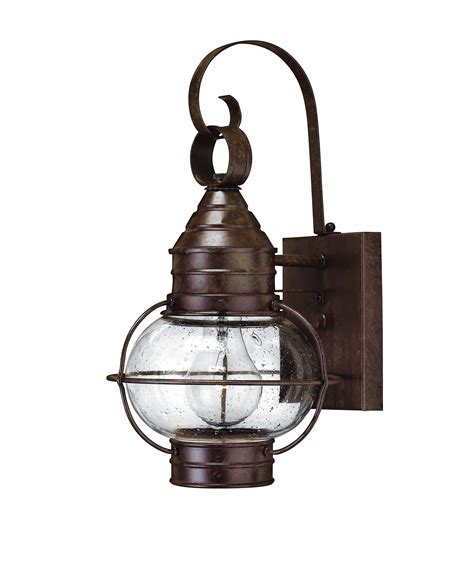hinkley lighting 2206 cape cod 1 light outdoor wall light
