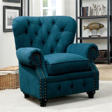 accent chairs living room teal fabric accent chair
