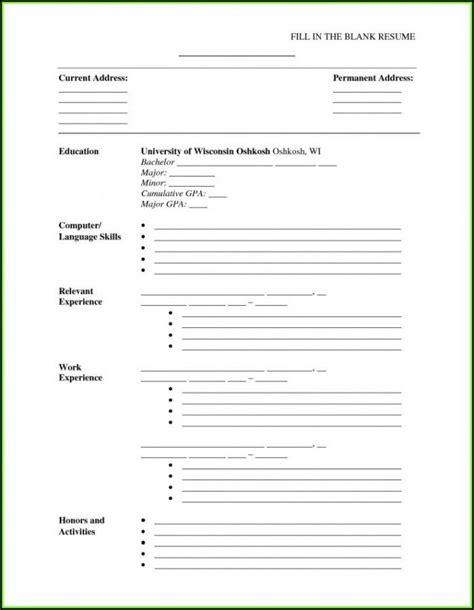 resume builder  printable  account resume resume