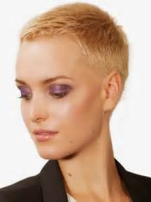 Buzz Cut Women Short Hairstyles