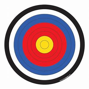 shooting targets templates to print search results With bullseye template printable