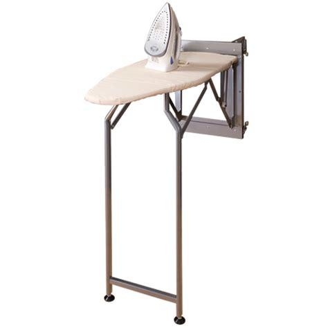 fold away ironing board wall mounted folding ironing board silver in ironing boards