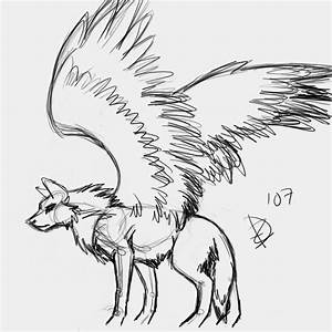 Wolves with wings by JadeLoverCupied on DeviantArt