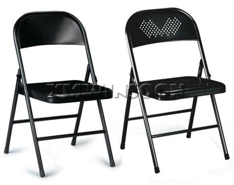 Cheap Black Heavy Duty Metal Folding Chairs Ac0090,chinese