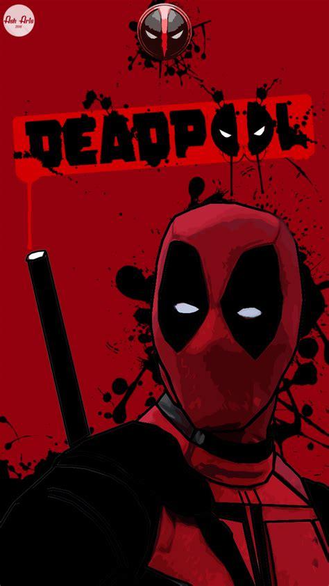 Deadpool Mobile Wallpaper By Asharts6 On Deviantart