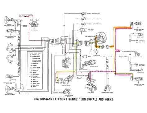 Latest Mustang Headlight Wiring Diagram Coupe