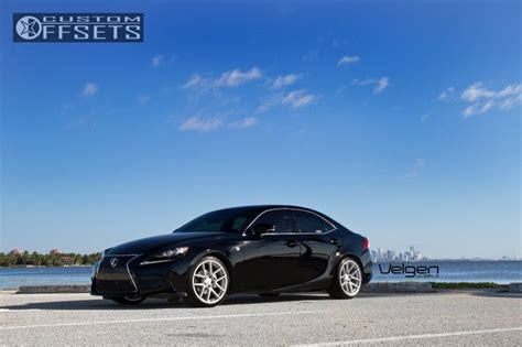 2014 lexus is250 velgen wheels vmb5 lowered on springs