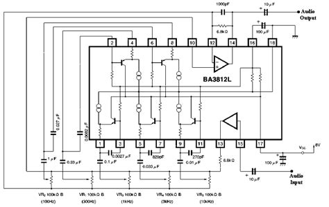 Band Graphic Equalizer Using Single Chip