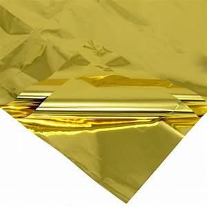 Mylar Tissue Sheets: Gold (Pack of 3) [50602