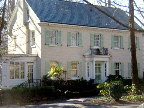 a traditional colonial home in atlanta earth everyday