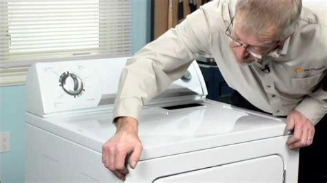 dryer repair replacing  multi rib belt whirlpool part  youtube