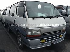 Used Automobiles For Sale In Japan For Toyota Hiace Van
