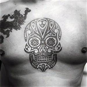 Tattoo Trends - Cool Sugar Skull Tattoo Designs For Men On ...