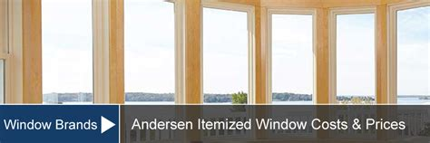 andersen window prices costs installation supply