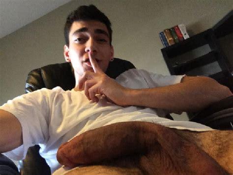 Webcam Boy With A Semi Hard Cut Dick - Nude Amateur Guys