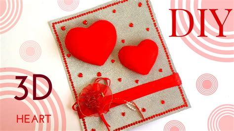 Design your own greeting card. Easy & Quick DIY 3D Heart Design Greeting Card | Simple Handmade Greeting Cards for Girls / Boys ...
