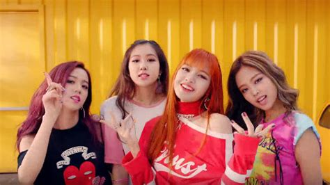 black pink shatters pop mv youtube record