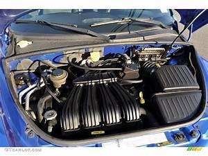 2005 Chrysler Pt Cruiser Convertible 2 4 Liter Dohc 16