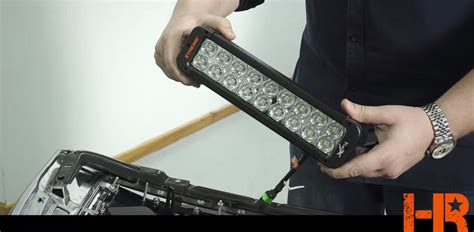 how to install a royalty light bar truck grille