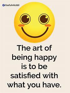 Be happy | Quot... Funny Emoticon Quotes
