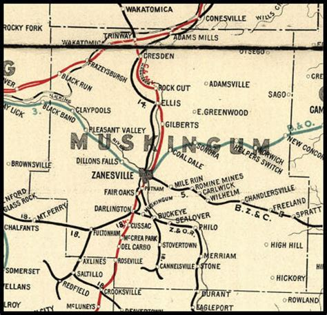 muskingum county ohio railroad stations