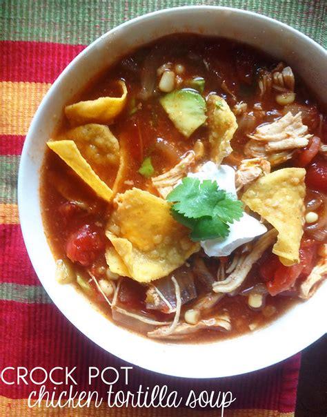 crockpot tortilla soup carina schoen recipe crock pot chicken tortilla soup