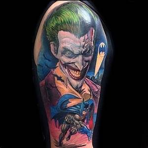 41 Cool Batman Tattoos Designs - Ideas for Male and Females