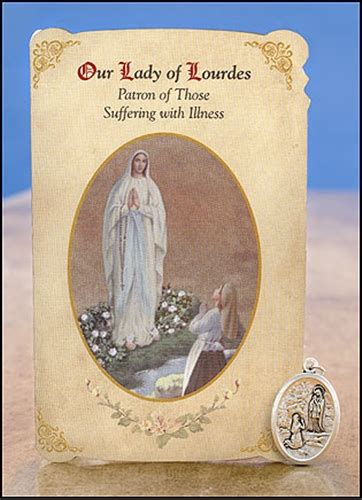 lady  lourdes st bernadette general illness