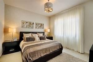 105 schlafzimmer ideen zur einrichtung und wandgestaltung for Wandgestaltung schlafzimmer braun