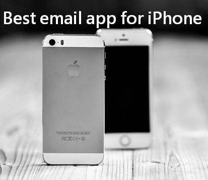 best iphone email app 4 best email apps for iphone the complete review roonby